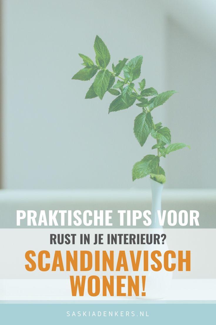 Zoek je rust in je interieur? Porbeer dan de scandinavisch interieur? Ik geef je enkele praktische tips voor Nordic Living
