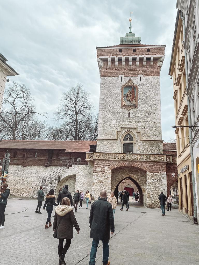 Florianus Poort in Krakau
