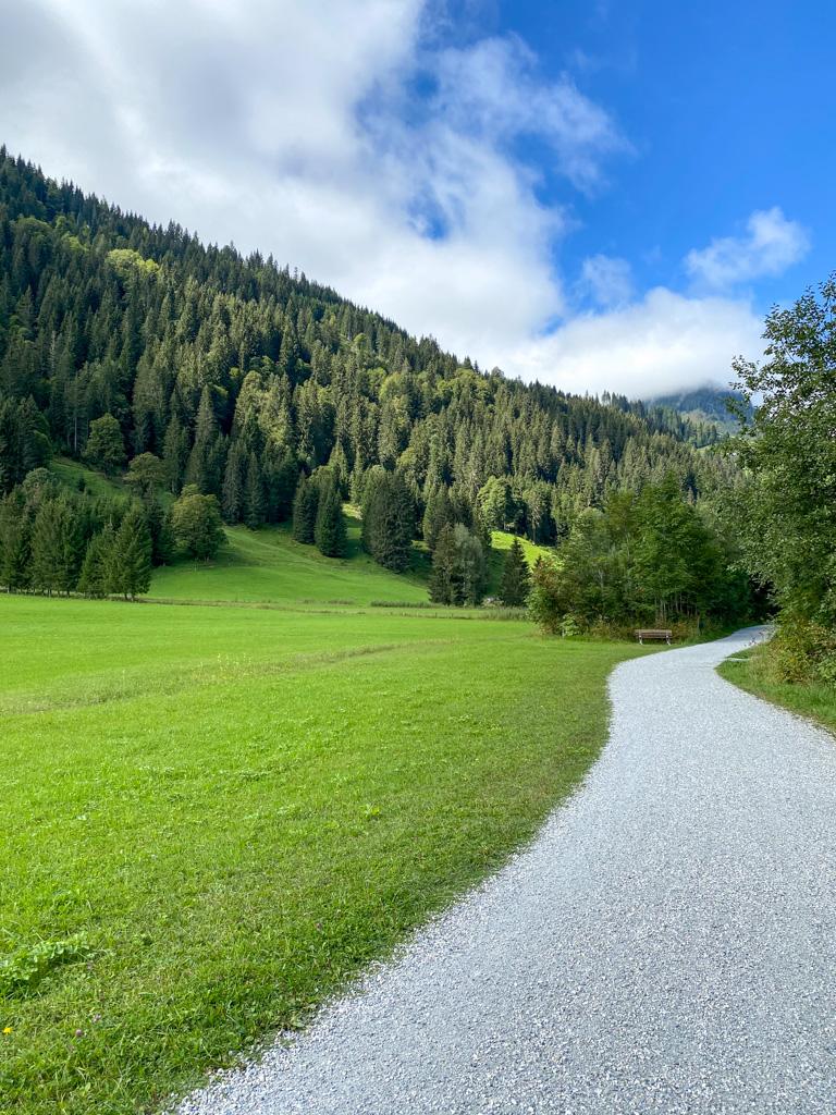 Fietsen in Oostenrijk - Mooi aangelegde fietspaden. Weg van de drukke weg.